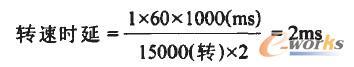 图4 旋转时延计算公式