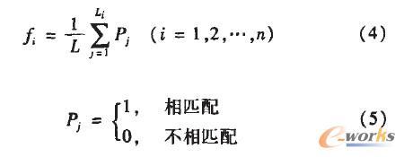 图6 亲和度计算公式
