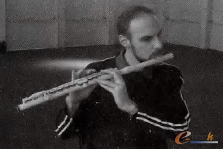 利用3D技术打印的、并能正常吹奏的长笛