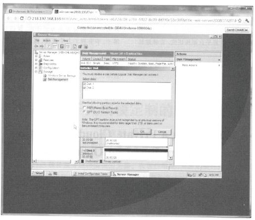图11 在windows实例挂载云硬盘