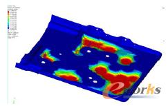 图6 底盘组可设计区域形貌优化结果