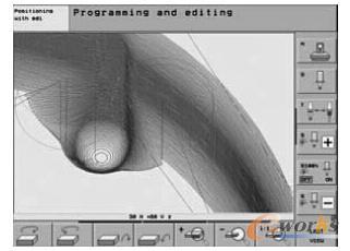 典型的模具类短直线段插补程序