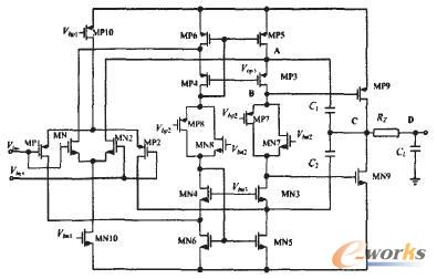 一种用于轨到轨运算放大器的新型频率补偿结构