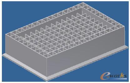 超大沉箱整体结构建模