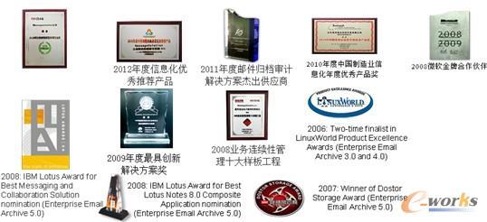 图4 MessageSolution荣誉证书