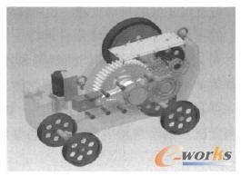 基于Inventor的钢筋切断机的三维建模与运动仿