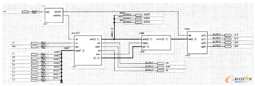 pwm控制电路图