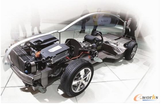 新能源汽车结构场景效果图