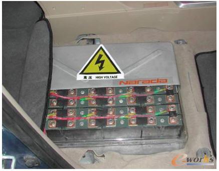 电动汽车电池组