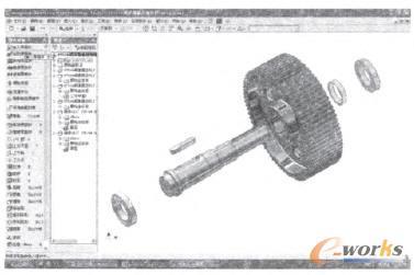三维设计在减速器拆装中的应用