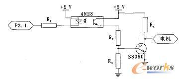 图3  电机驱动电路