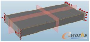 图2.3 车架Inspire优化设计模型