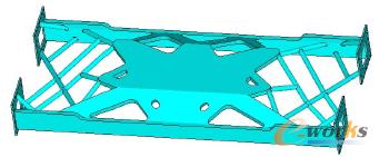 图2.6 车架新结构
