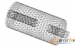 图3 插管式消声器结构图