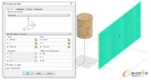 FEKO在人体目标成像阵列设计和仿真中的应用